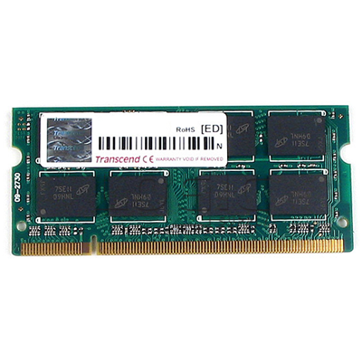 Transcend Transcend 8GB DDR3 1333MHz SO-DIMM CL9 ECC (TS8GAP1333E3D)