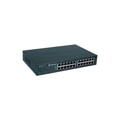 Trendnet 24-Port 10/100Mbps Compact Switch (TE100-S24R)