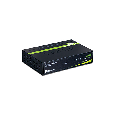 Trendnet 5-Port 10/100Mbps GREENnet Switch (TE100-S50G)