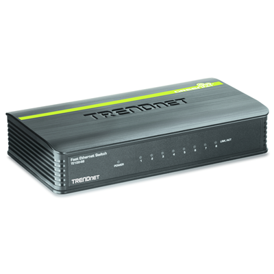 Trendnet 8-Port 10/100Mbps Switch (TE100-S8)