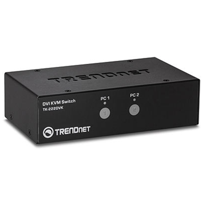 Trendnet TK-222DVK Tastatur/Video/Maus (KVM) Switch