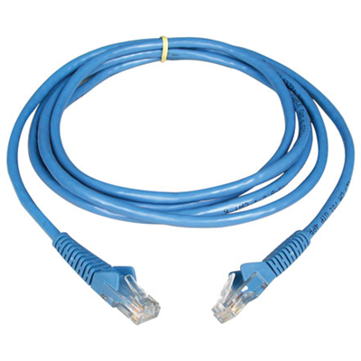 Tripp Lite 5-ft. Cat6 Gigabit Snagless Patch Cable (N201-005-BL)