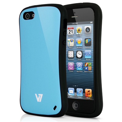 V7 Extreme Guard Case für iPhone 5s | iPhone 5 blau
