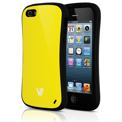 V7 Extreme Guard Case für iPhone 5s | iPhone 5 gelb
