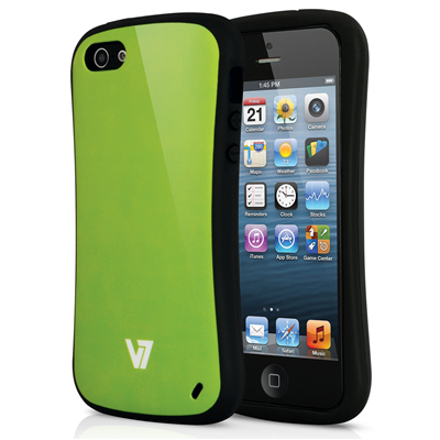 V7 Extreme Guard Case für iPhone 5s | iPhone 5 grün