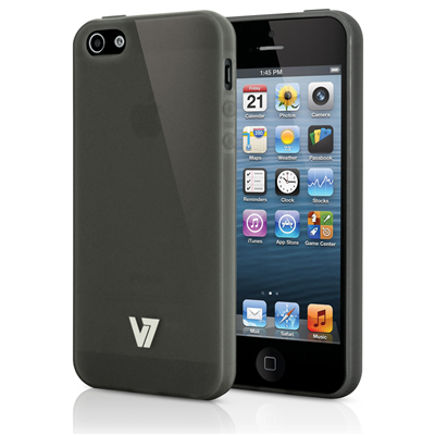 V7 Flexslim Case Case für iPhone 5s | iPhone 5 grau