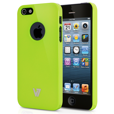 V7 High Gloss Case für iPhone 5s | iPhone 5 grün