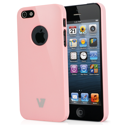 V7 High Gloss Case für iPhone 5s | iPhone 5 pink