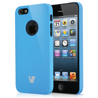 V7 Metro Anti-slip Case für iPhone 5s | iPhone 5 blau