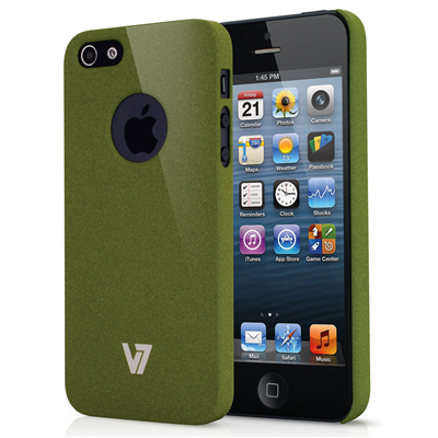 V7 Metro Anti-slip Case für iPhone 5s | iPhone 5 grün