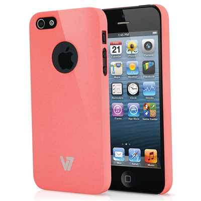 V7 Metro Anti-slip Case für iPhone 5s | iPhone 5 pink