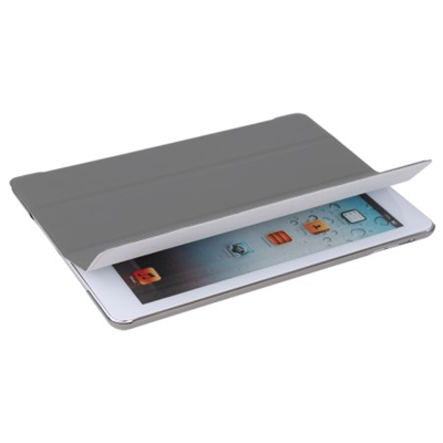 V7 Ultra Slim 3-fach Folio Case für iPad Air - grau