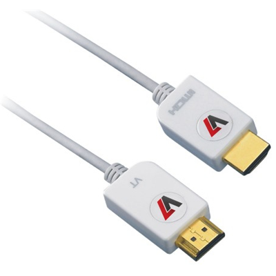 V7 Ultraflaches HDMI® Kabel mit Ethernet 3m