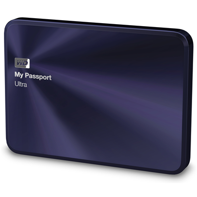 Western Digital My Passport Ultra Metal Edition, 1TB (WDBTYH0010BBA) (WDBTYH0010BBA-EESN)