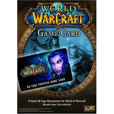 WOW - World of Warcraft - Game Time Card, 60-Tage, PC