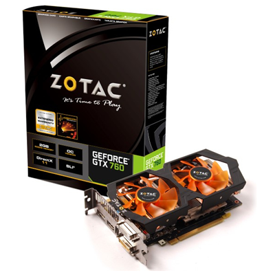 Zotac ZT-70405-10P NVIDIA GeForce GTX 760 2GB