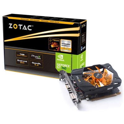 Zotac ZT-71002-10L NVIDIA GeForce GT 740 1GB