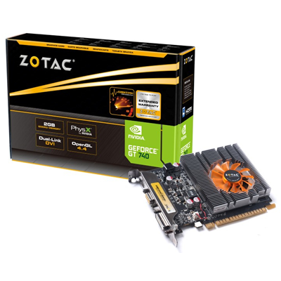 Zotac ZT-71004-10L NVIDIA GeForce GT 740 2GB