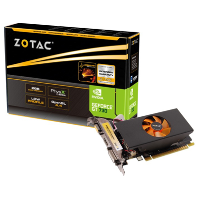 Zotac ZT-71101-10L NVIDIA GeForce GT 730 2GB