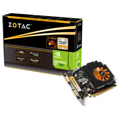 Zotac ZT-71104-10L NVIDIA GeForce GT 730 1GB